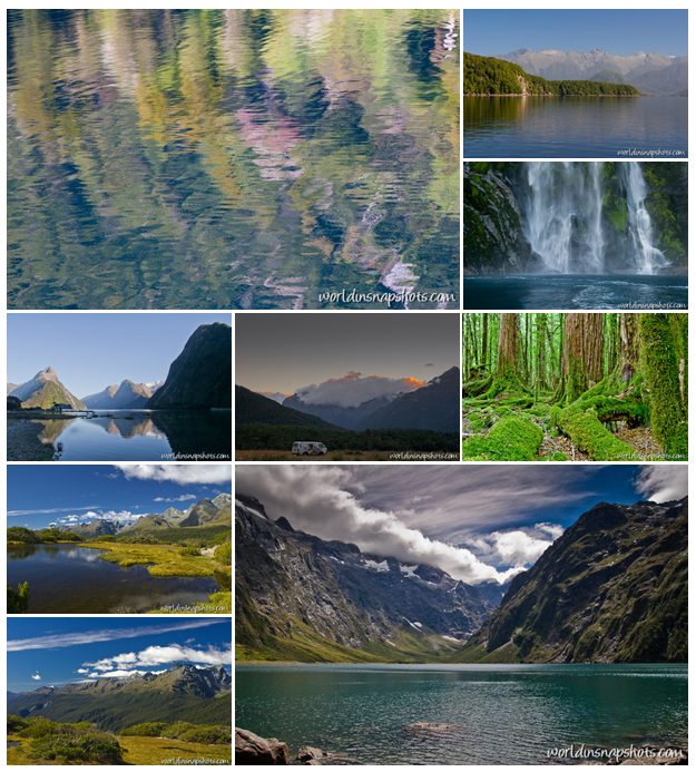 Rectangular or tiled image gallery layout